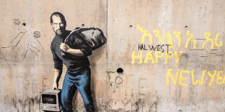 Banksy ismét fújt, ezúttal a menekültkérdésről