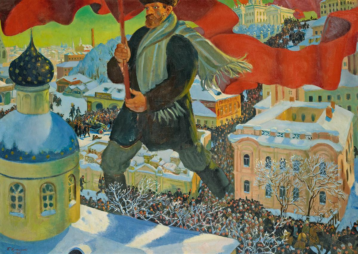 Orosz show Londonban: egy fedél alatt az avantgárd és a szocreál