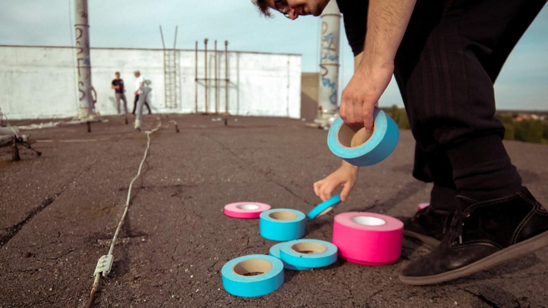 A szét-tape-elt város. Tape Art Convention, Berlin