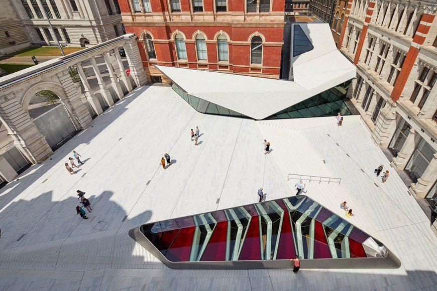 Az 55 millió fontos gödör: itt a Viktória és Albert Múzeum új szárnya