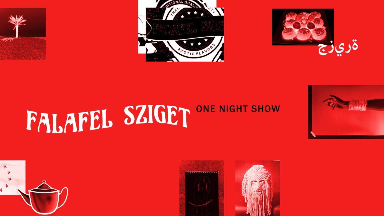 Pop-up kiállítás a Falafel Szigetben