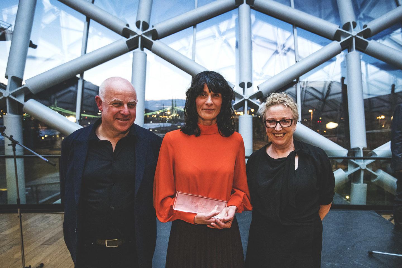Németh Hajnalé a Leopold Bloom díj 2017-ben