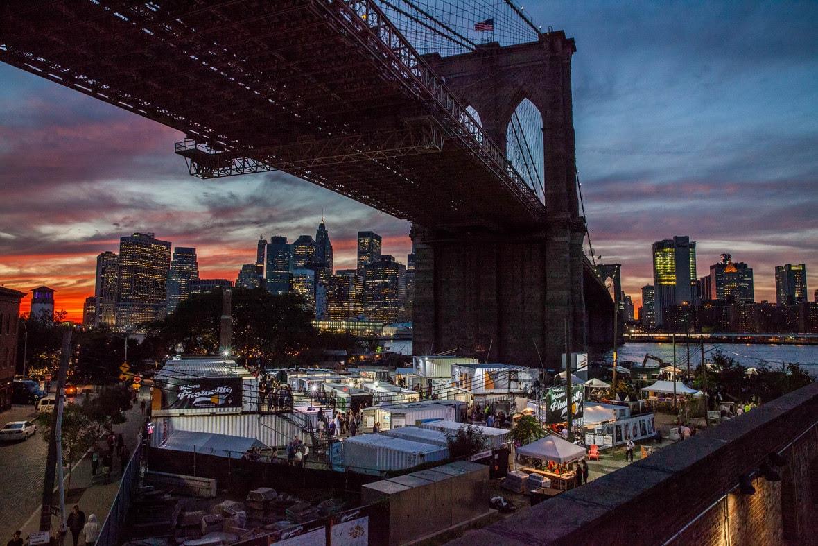 Photoville 2017, a Brooklyn-híd árnyékában