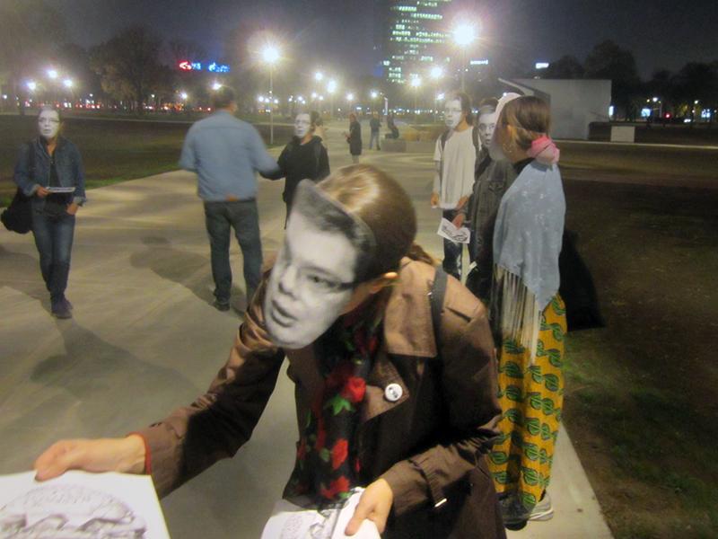 Letartóztatások Belgrádban, a Kortárs Művészeti Múzeum újranyitásakor