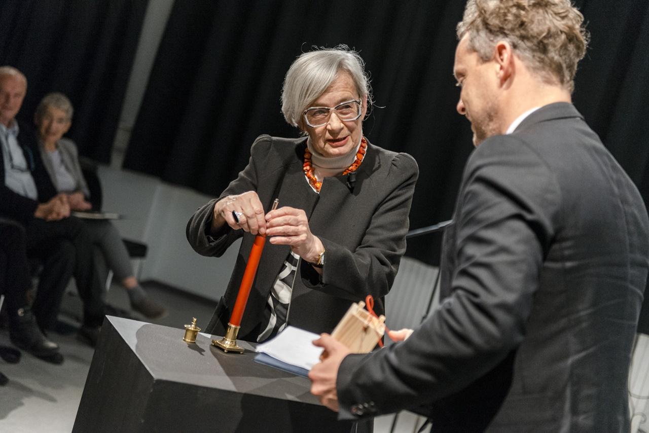 Passuth Krisztina kapta a MOME Moholy-Nagy díját