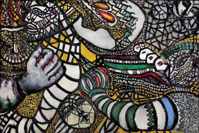 Absztrakt, nő és török: Fahrelnissa Zeid újrafelfedezése Berlinben