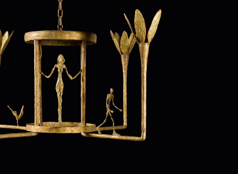 Kettő az egyben: Giacometti-csillár a Sotheby's londoni árverésén