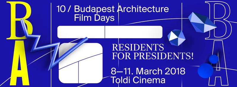 10. Budapesti Építészeti Filmnapok