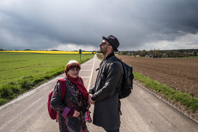 JR, Varda és a verda: fotomobil a francia valóságban