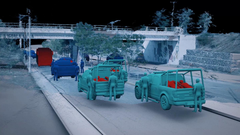 Az újrajátszás újrajátszása.  Hogyan dolgozik a Forensic Architecture?