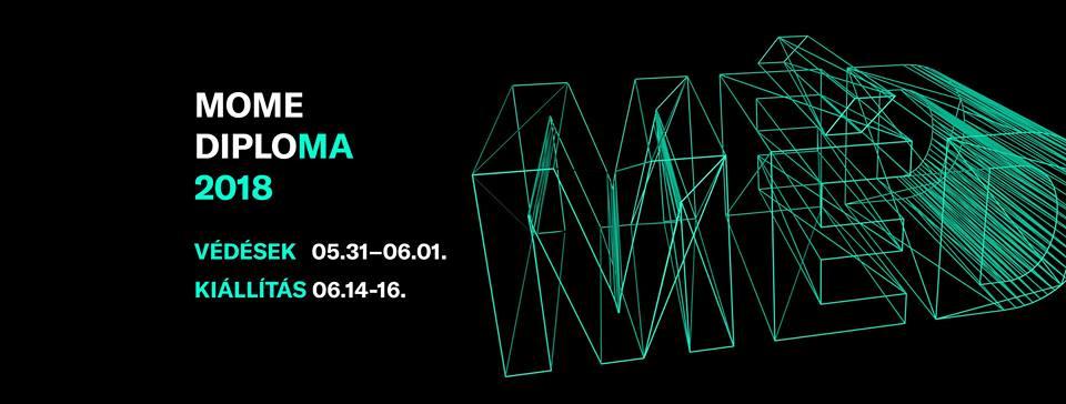 MOME Media Design Diplomakiállítás 2018