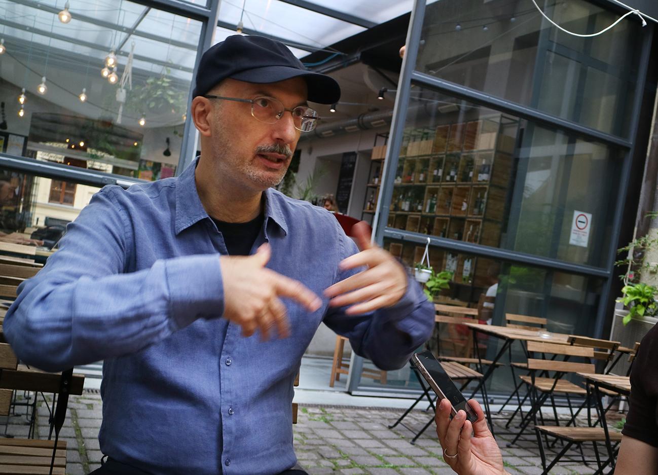 """""""A számítógép menekülési lehetőség volt"""" – Interjú Waliczky Tamással I."""