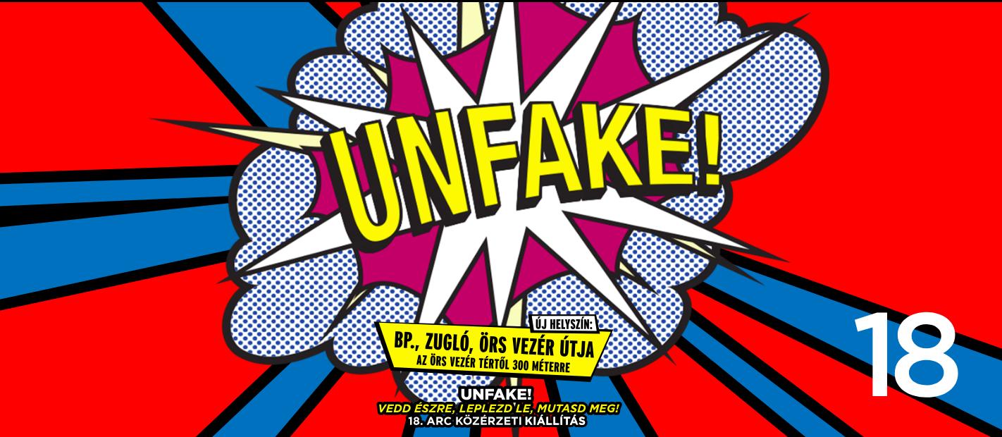 Unfake. ARC plakátkiállítás
