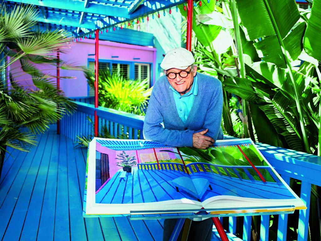 Új aukciós világrekordot állíthat fel az élő művészek között David Hockney