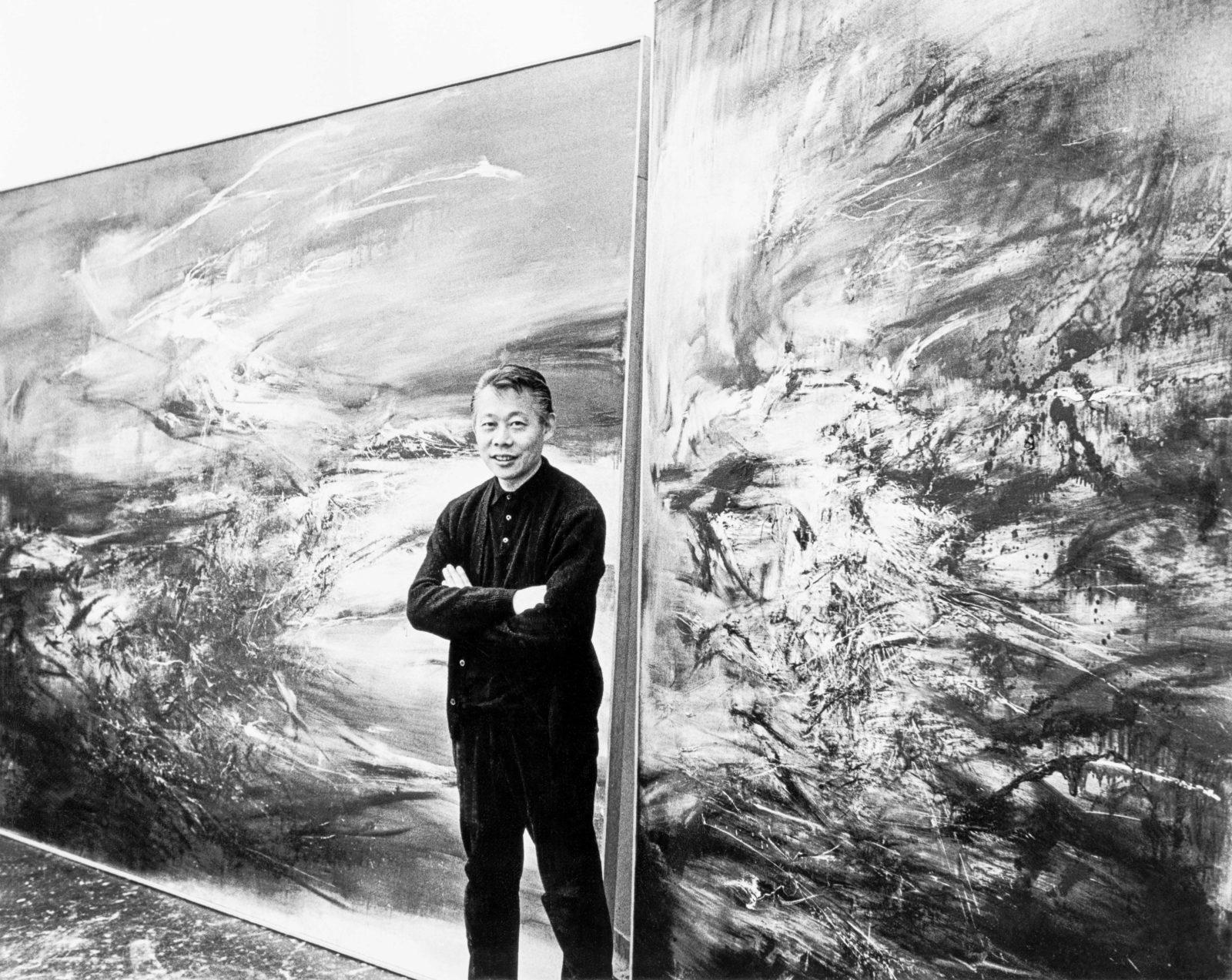 A kínai festő, aki a nyugati művészeten át talált vissza a gyökereihez