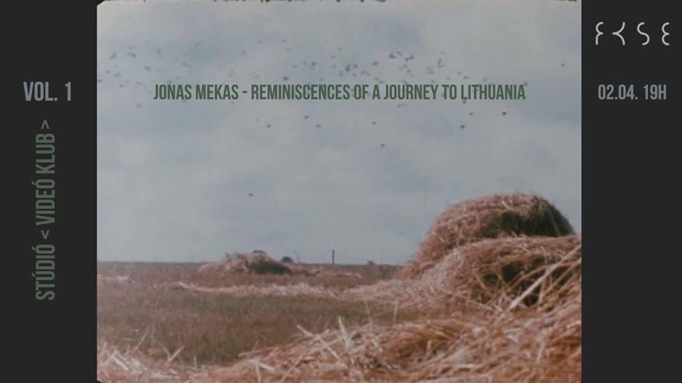 Stúdió Videó klub Vol. 1 – Jonas Mekasra emlékezve
