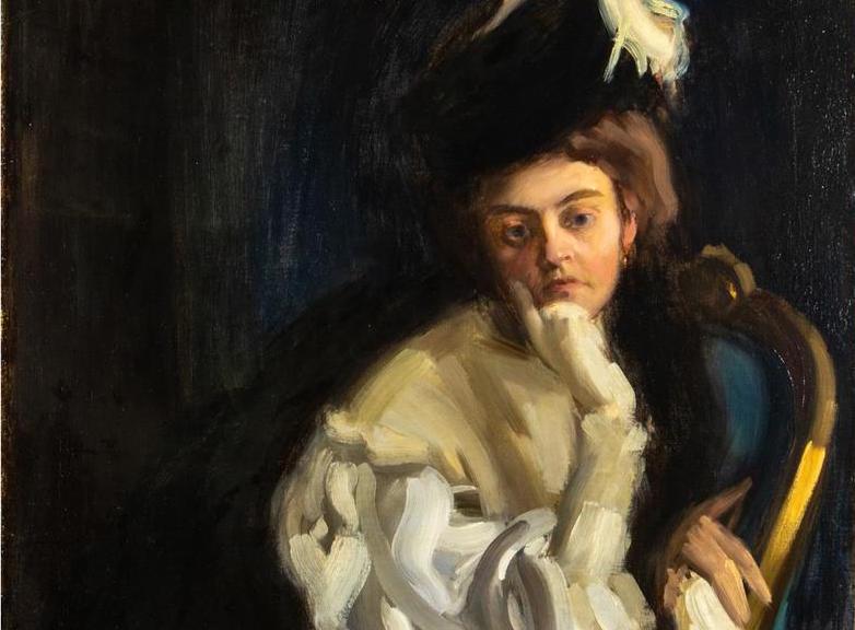 Cleveland-ben kerül kalapács alá Vaszary János feleségéről festett portréja