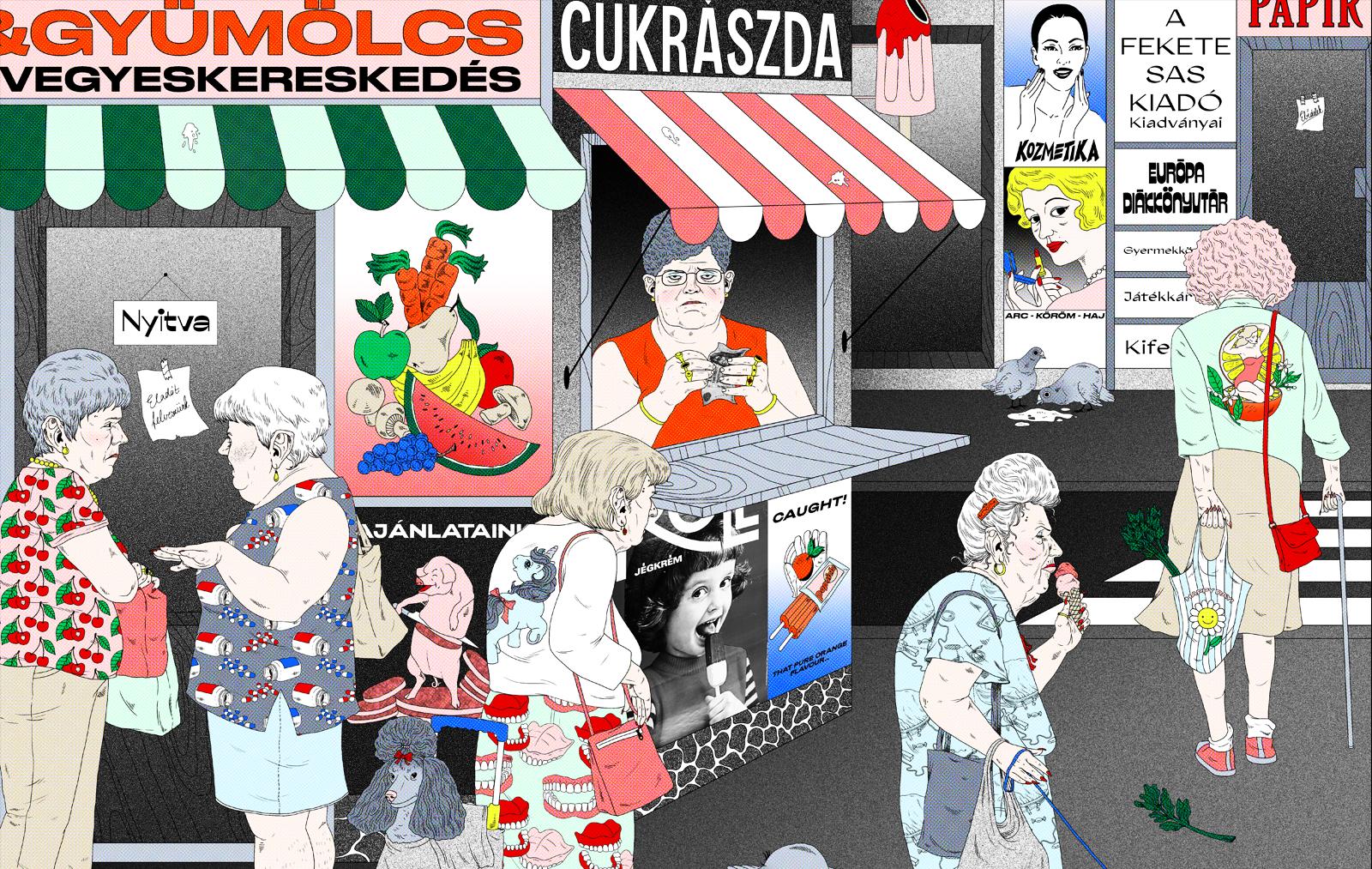 Magyar illusztrátor a világ 100 legjobbja között, a Taschen szerint