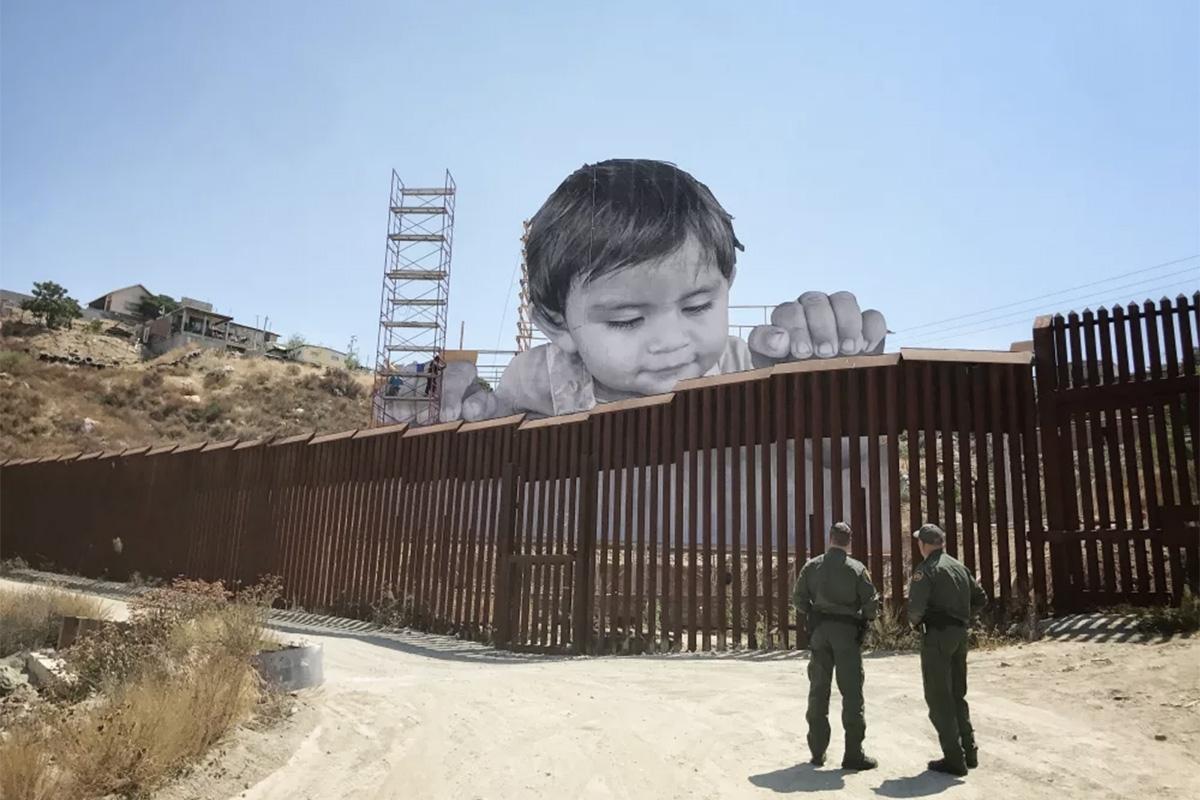 Határszindróma: képzőművészek reflexiói az USA és Mexikó közötti falnál