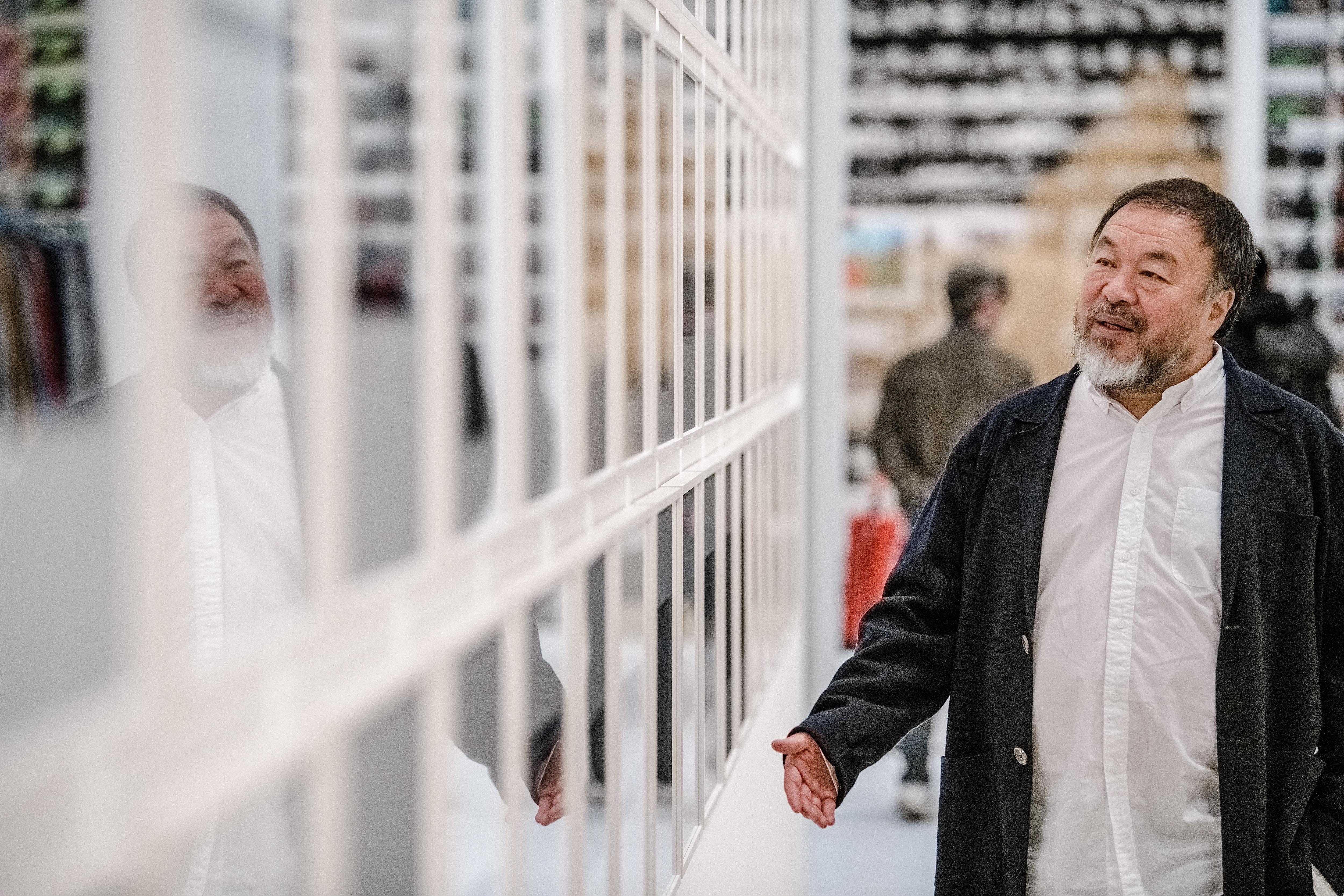Kidobták Ai Weiweit a müncheni Haus der Kunstból