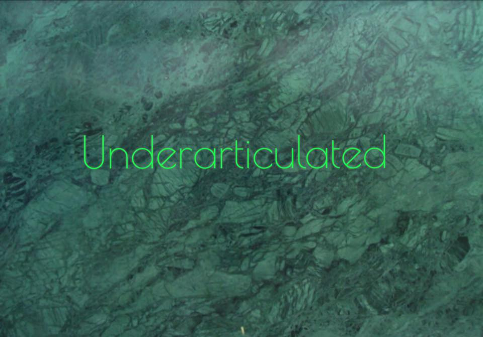 Underarticulated