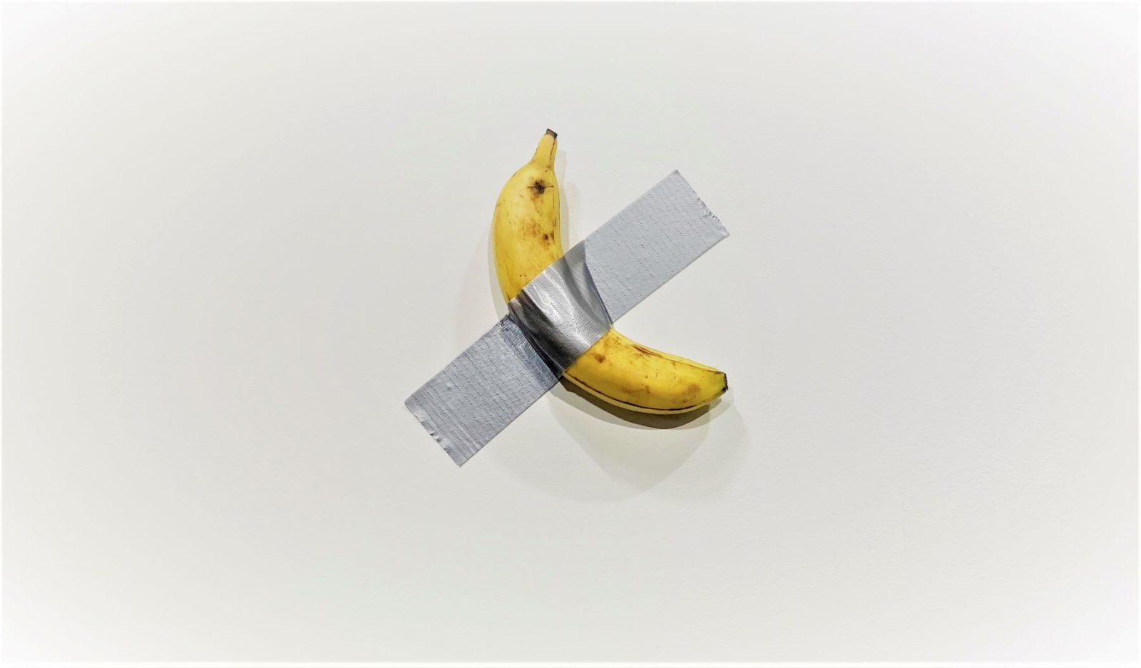 Erről a banánról beszélt a múlt héten az egész kortárs műtárgypiac