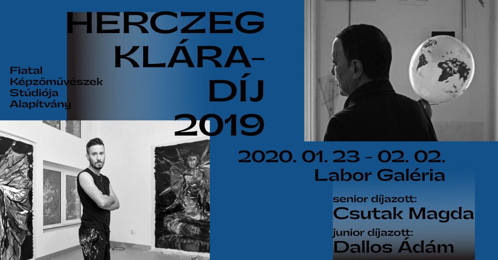 Herczeg Klára-díj 2019