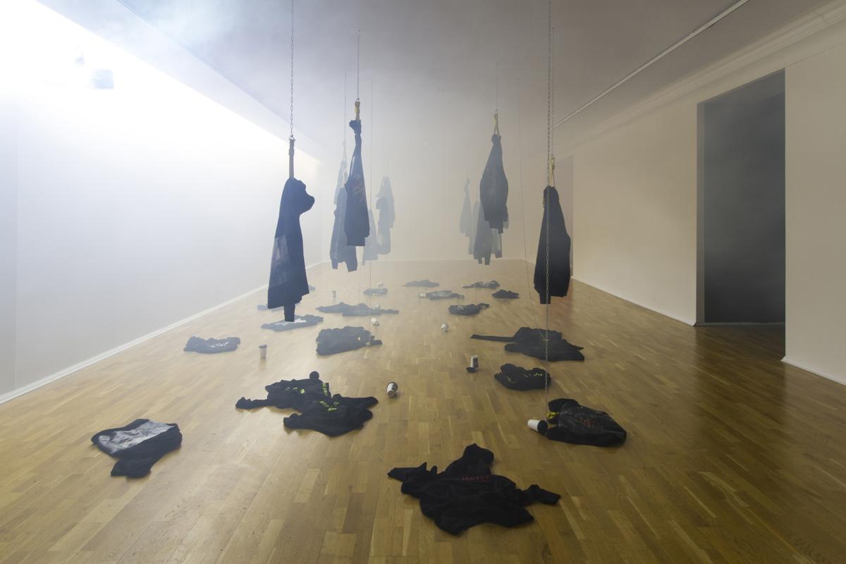 Gabriela Zigova munkája az Ecology of Desire, Oskar Cepan Award 2019 című kiállításon, Kassán