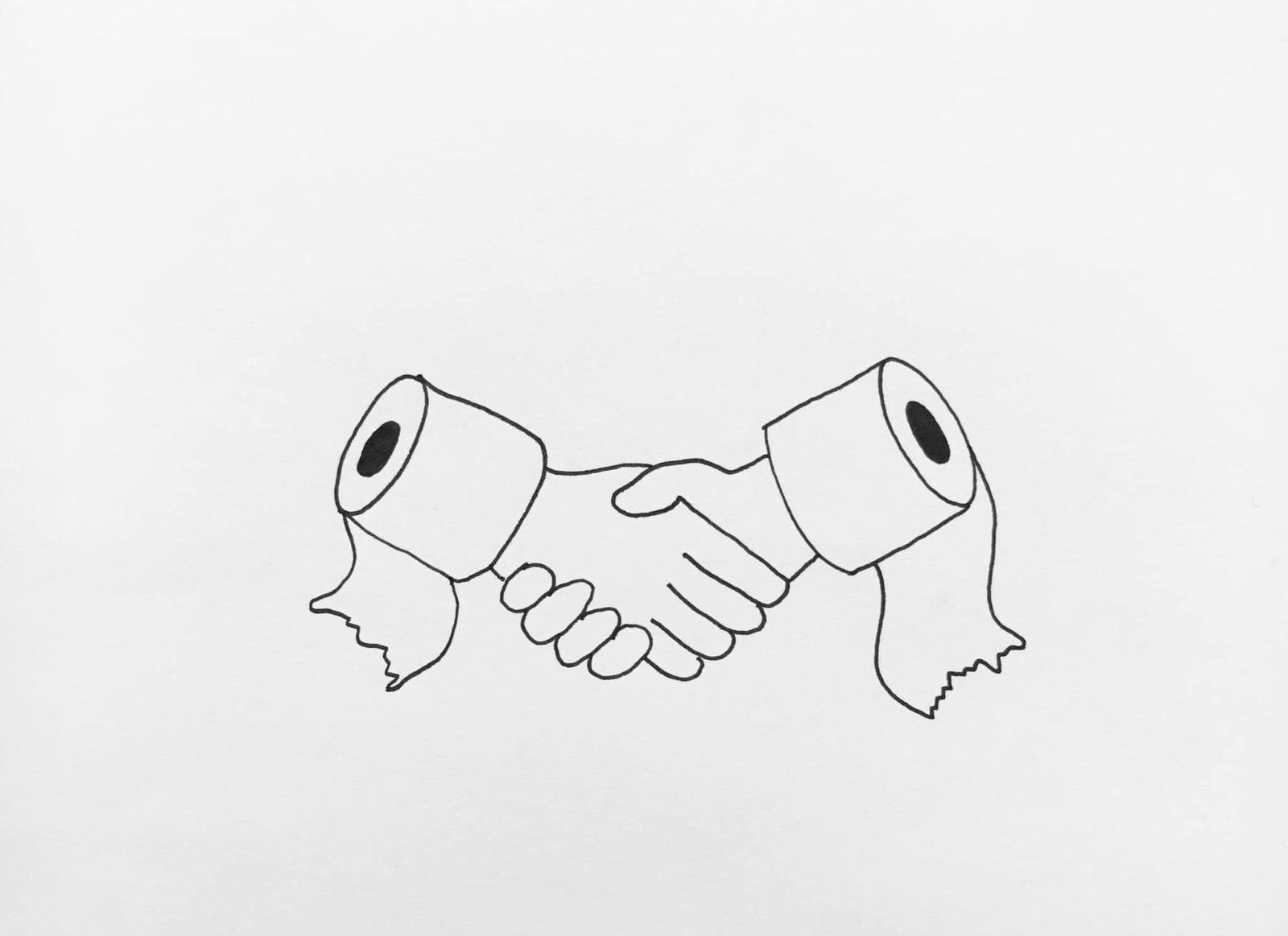 A koronavírus, a WC-papír és a képzőművészet