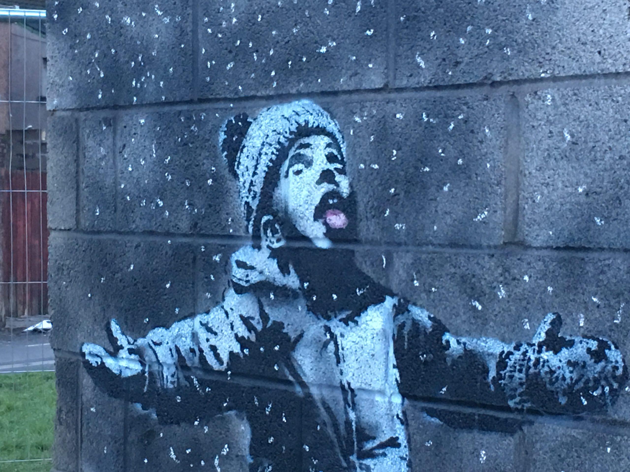 """""""Ez az én problémám"""" – Banksy a rasszizmusról"""