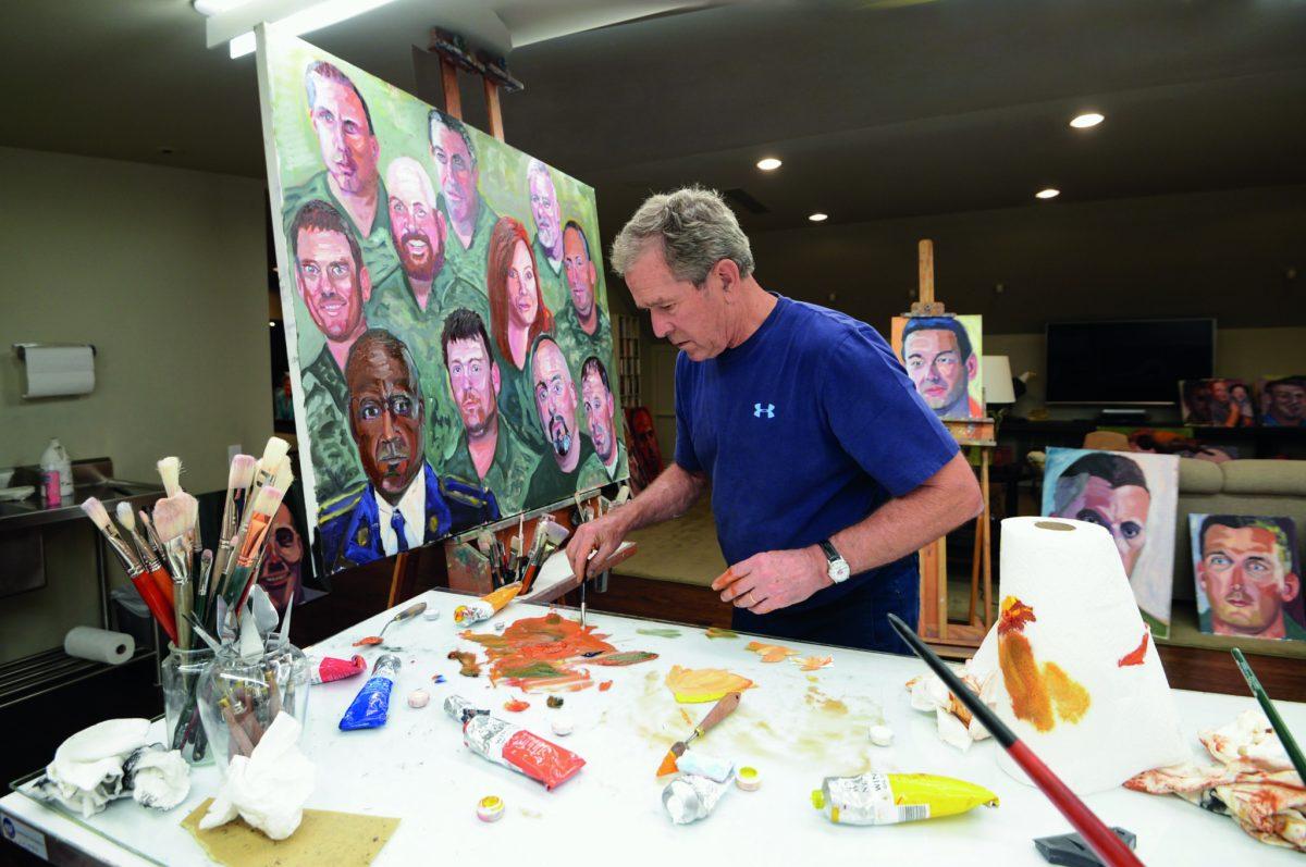 George W. Bush ma másként látja a bevándorlókat, mint elnökként