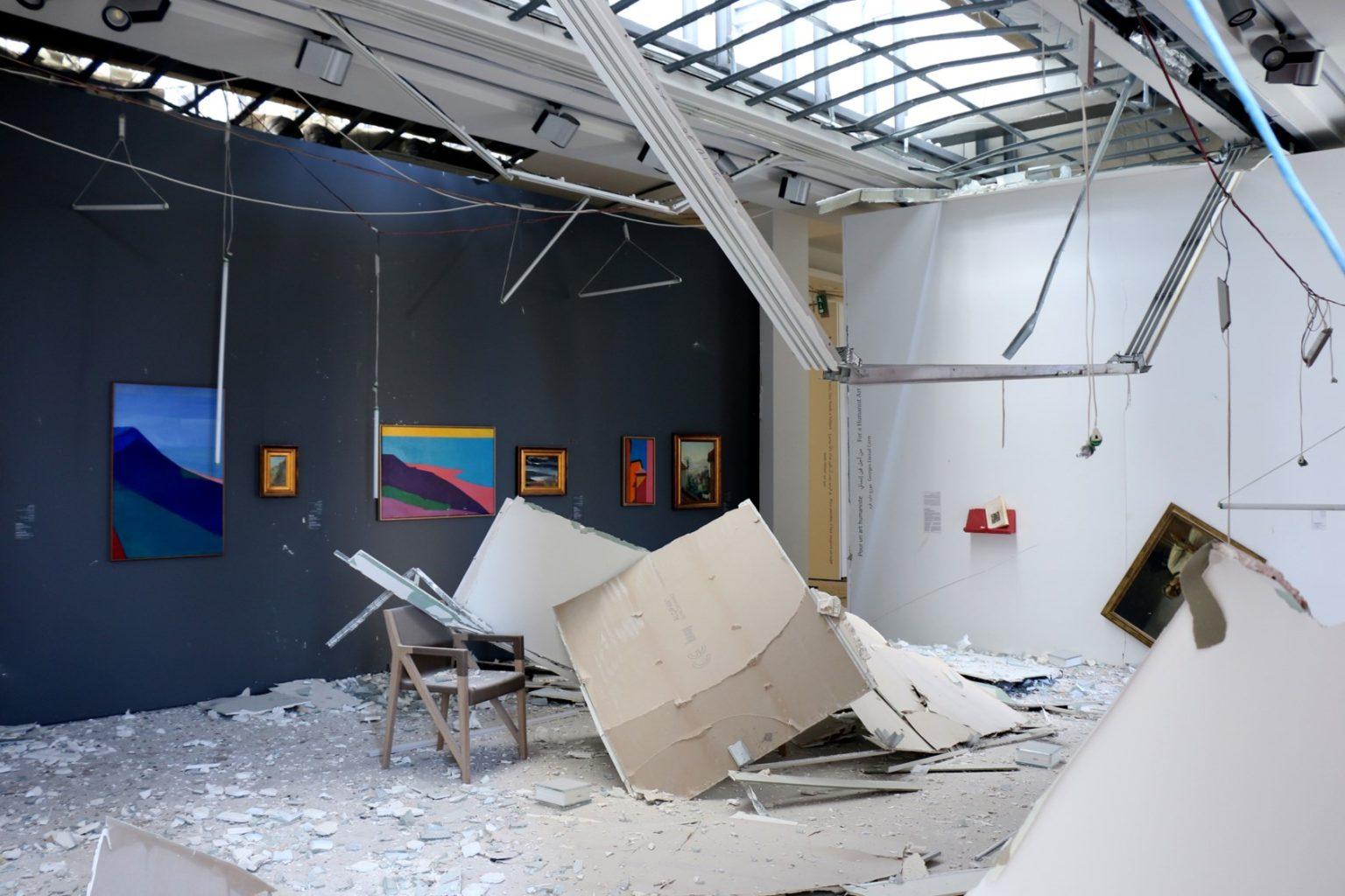Bejrútban a képzőművészeti színtér is romokban hever