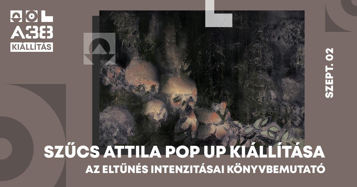 Szűcs Attila pop up kiállítása