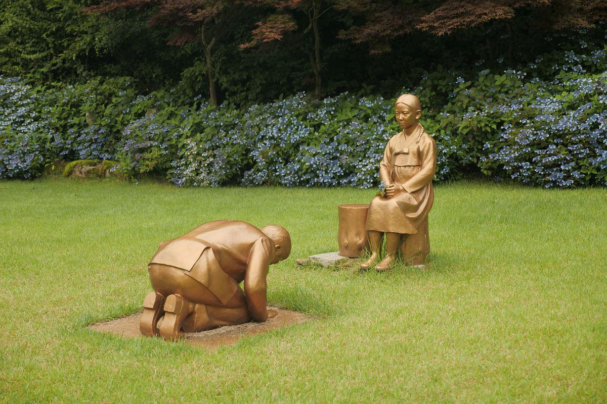 Ez a szobor okoz feszültséget Dél-Korea és Japán között