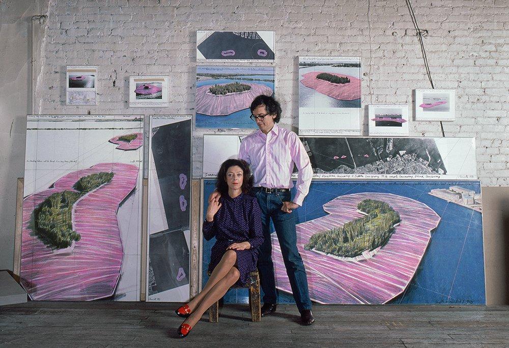 Kicsomagolva. Kalapács alá kerül Christo és Jeanne-Claude magángyűjteménye