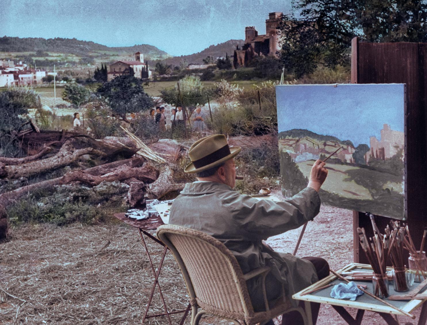 Sir Winston Churchill a legdrágább festő a politikusok között