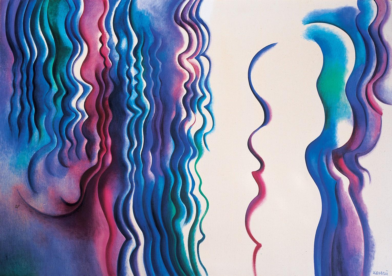 Keserü Ilona festményével gazdagodott a párizsi Musée National d'Art Moderne gyűjteménye